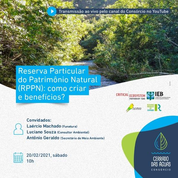 Consórcio Cerrado das Águas promove encontro sobre RPPN – Reserva Particular do Patrimônio Natural
