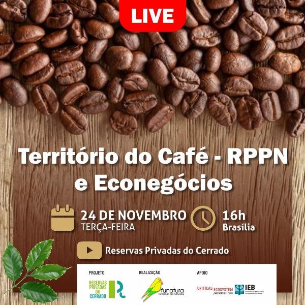 Encontro online vai debater produção sustentável do café