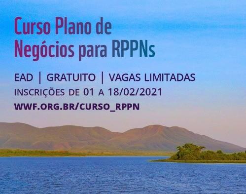 Curso: 'Plano de Negócios para RPPN' está com inscrições abertas